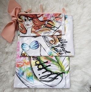 Little Mermaid Swimsuit and Flip Flop Bags